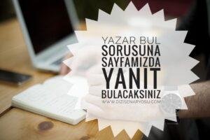 Yazar Bul www.dizisenaryosu.com