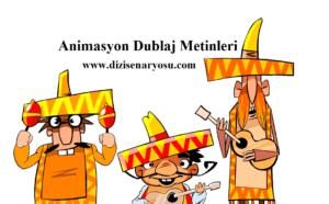 Animasyon Dublaj Metinleri