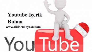 youtube içerik bulma